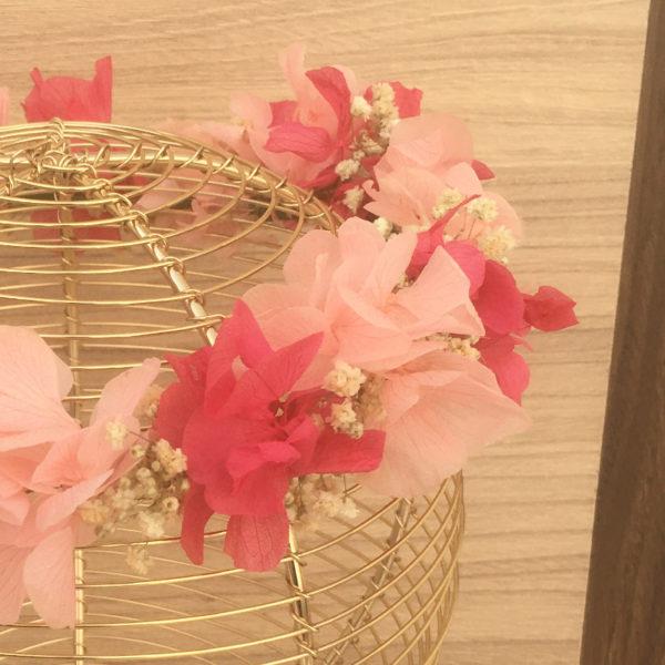 Corona de primera comunión infantil hecha a mano artesanal personalizable