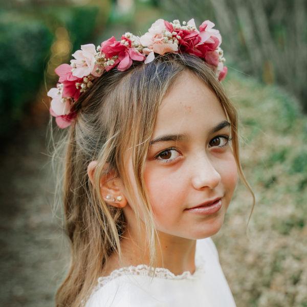 Coronas infantiles niña para la primera comunión
