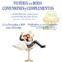 No te pierdas la feria de bodas y comuniones de bollullos 2019. VII Edición. Allí estaremos.