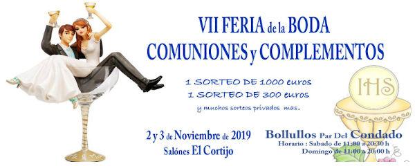 VII Feria de la Boda, comuniones y complementos Bollullos Par Del Condado