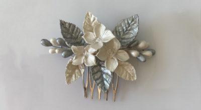 peinetas para el pelo de novia para bodas bautizos comuniones