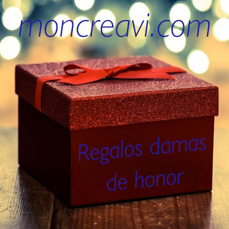 regalos damas de honor de boda