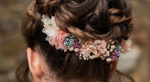 adornos de flores para bodas novias en flores preservadas